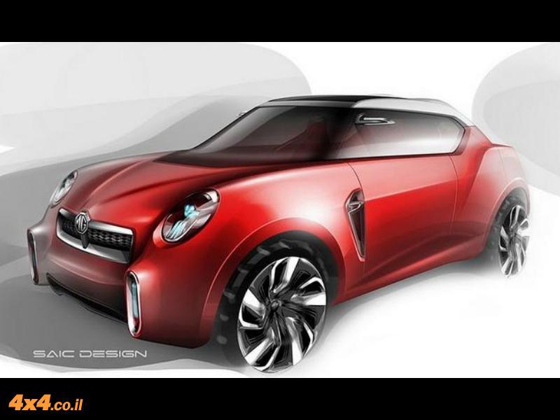 נחשף דגם קונספט של רכב שטח מתוצרת MG