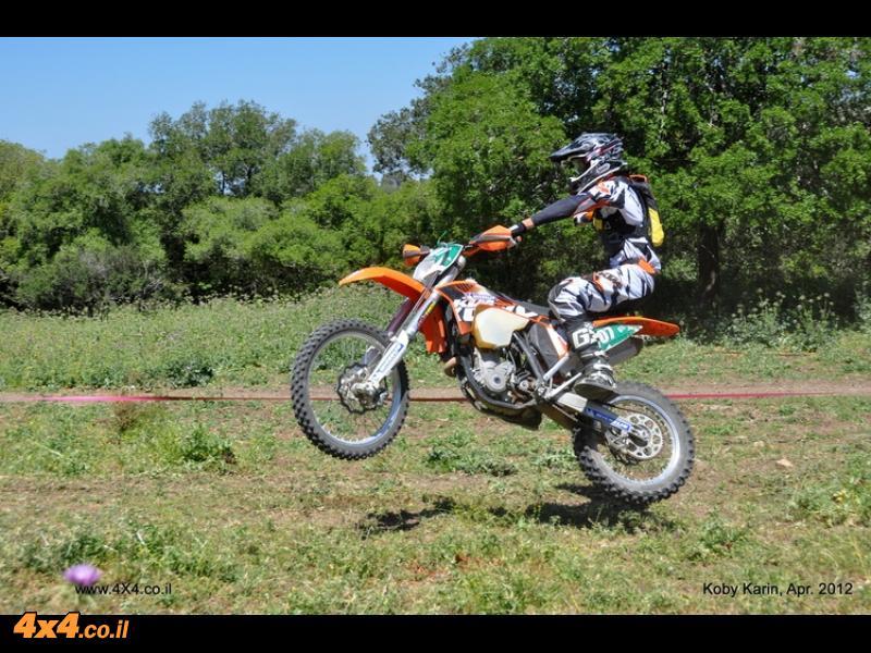 ליגת אופנועי האנדורו סבב מס' 7 כפר החורש