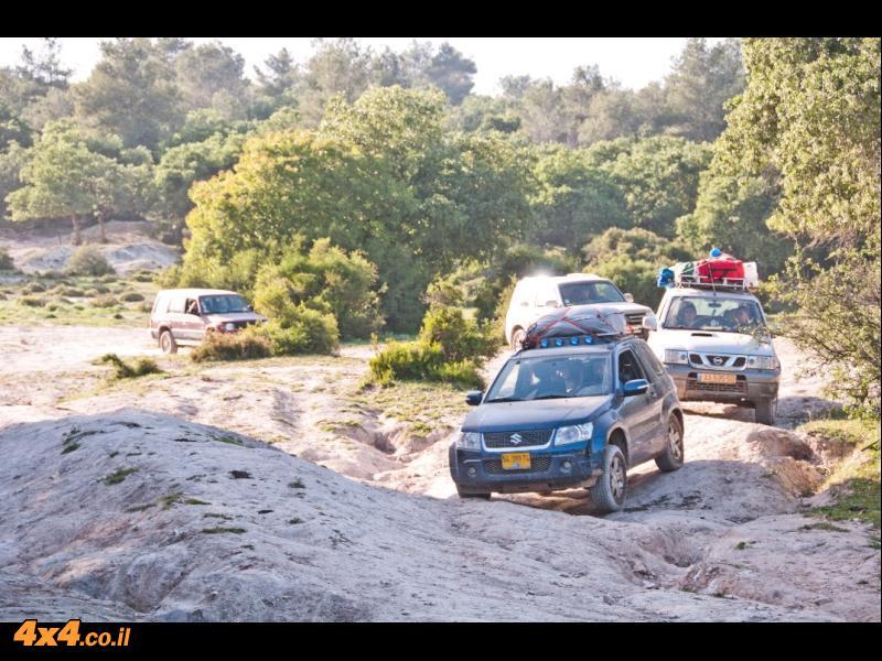 יומן מסע חוצה ישראל בשלבים 2012, חלק א', צפון הארץ