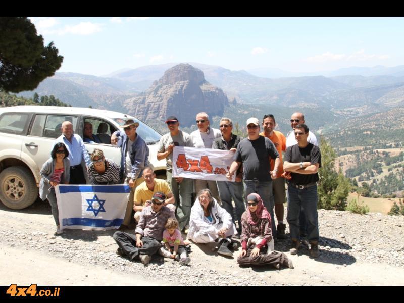 מרוקו - הרפתקה גדולה במסע ג'יפים להרי האטלס ולסהרה