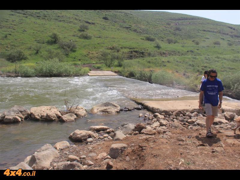 מנהר הירדן לכנרת