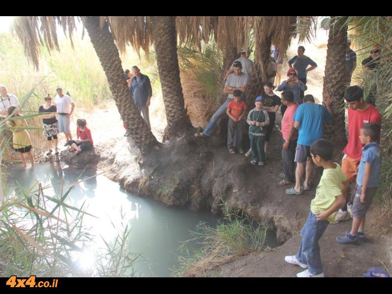 היום הרביעי למסע - מישור עמיעז ( צפון הערבה ) ועד לנחל פארן(באר אשלים )