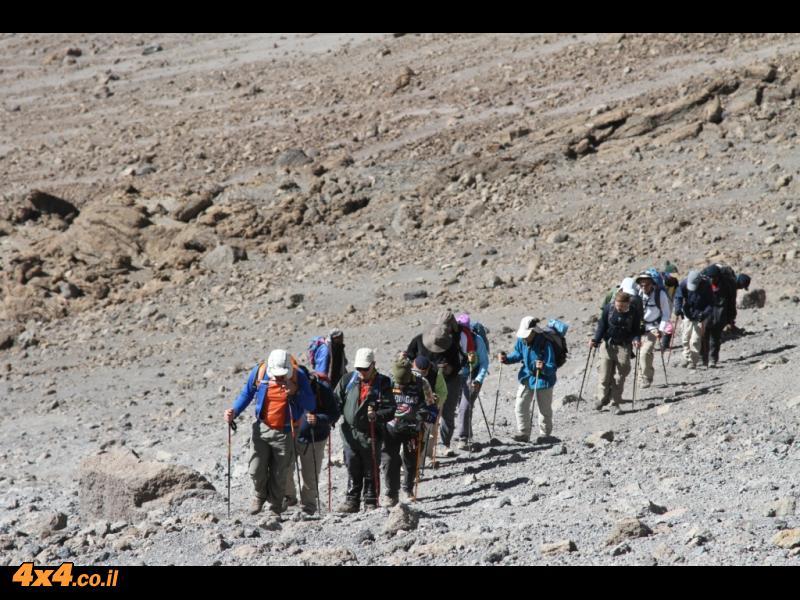 הדרך לפסגה - קשה ומאתגרת אך גם מאוד מספקת