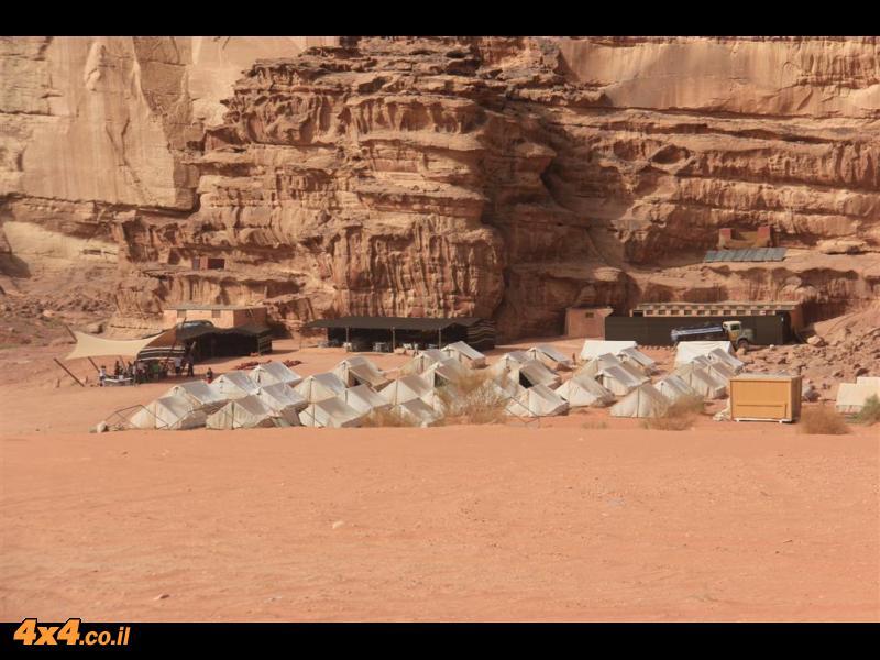 ירדן בטיול ג'יפים - שבועות 2012