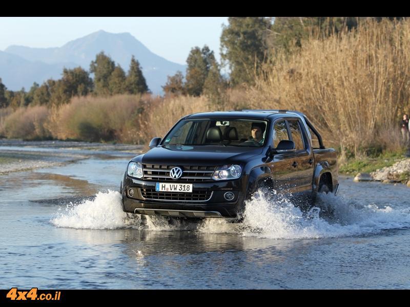פולקסוואגן אמרוק VW Amarok – מבחן דרכים