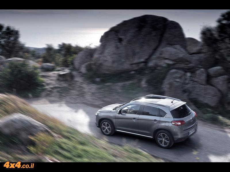 פיג'ו 4008 Peugeot - מבחן דרכים