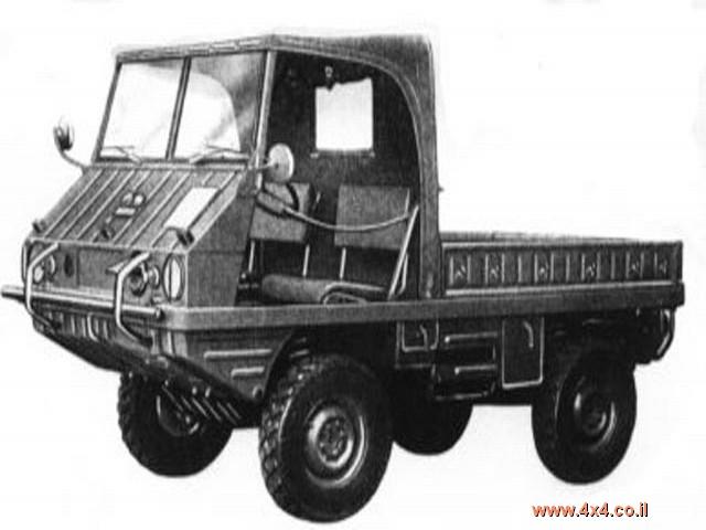 רכב צבאי עם הסבות רבות