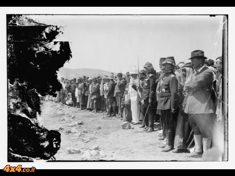 הרברט סמואל והמלך פייסל, עמאן 1920