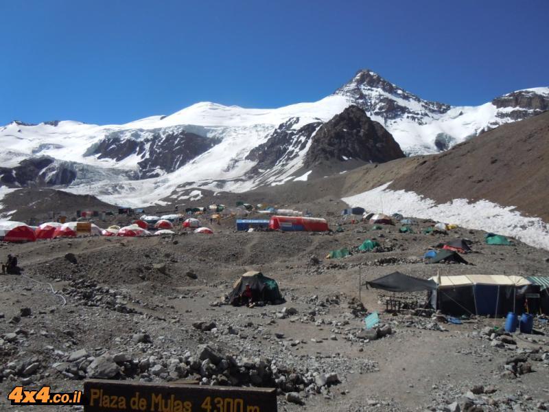 Base-Camp Plaza de Mulas  4,300M
