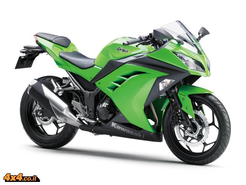 אופנוע - חדש לשנת 2013 קוואסאקי Kawasaki Ninja 300
