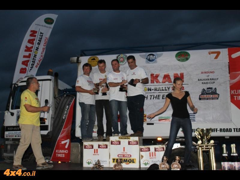 מרוץ ראלי בלקן 2012 Balkan Marathon Rally - עדכונים מיום 13/9/12 ומיום סיום המרוץ 14/9/12