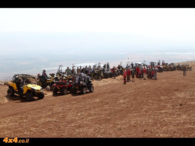 בתצפית לעמק הירדן ומזרחה להרי גלעד (ממלכת ירדן)