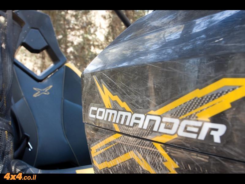 קאן-אם קומנדר 1000x - נתונים טכניים