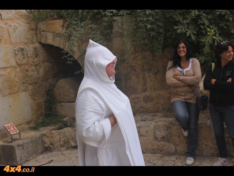 הנזיר אוליביה ממנזר באבו גוש