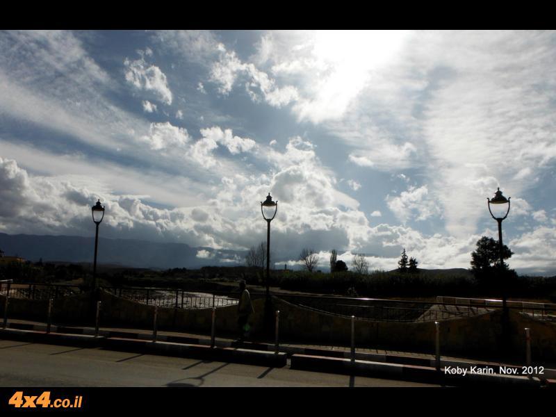 מקניון הטודרה לעיירת הסקי איפרן