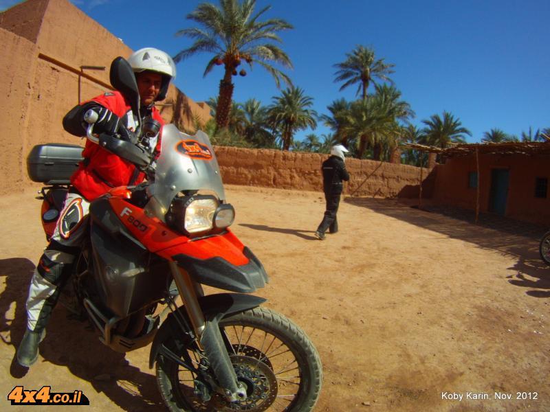 יורדים בעמק הדרא עד טאזארין