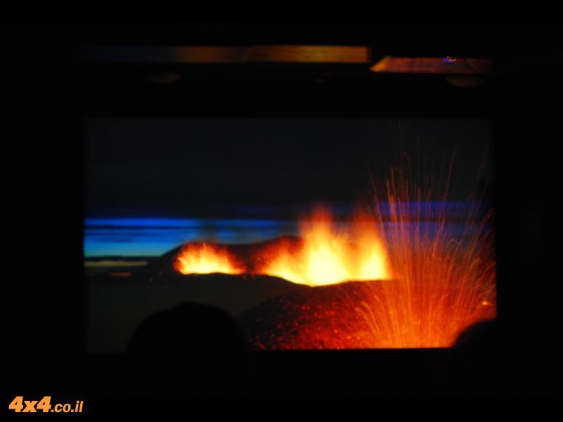 איסלנד ארץ האש והקרחונים