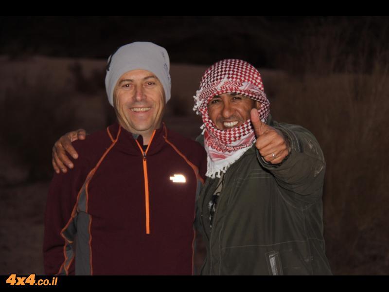 דורון והמדריך הירדני - עבדאללה