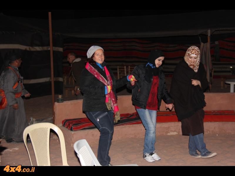 הלילה הראשון בירדן
