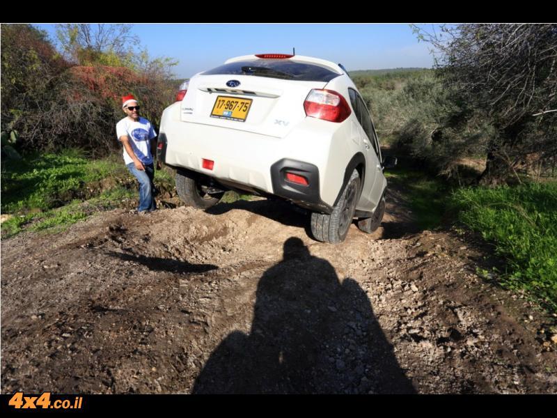 הדרכת נהיגת שטח סובארו – 28.12.2012