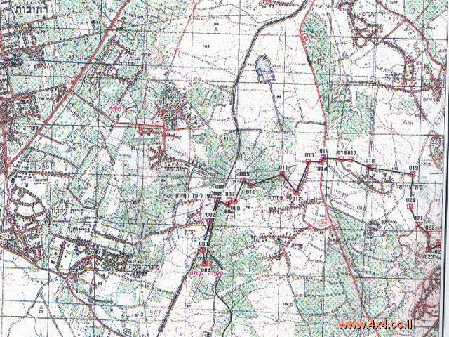 מפה מס'   1