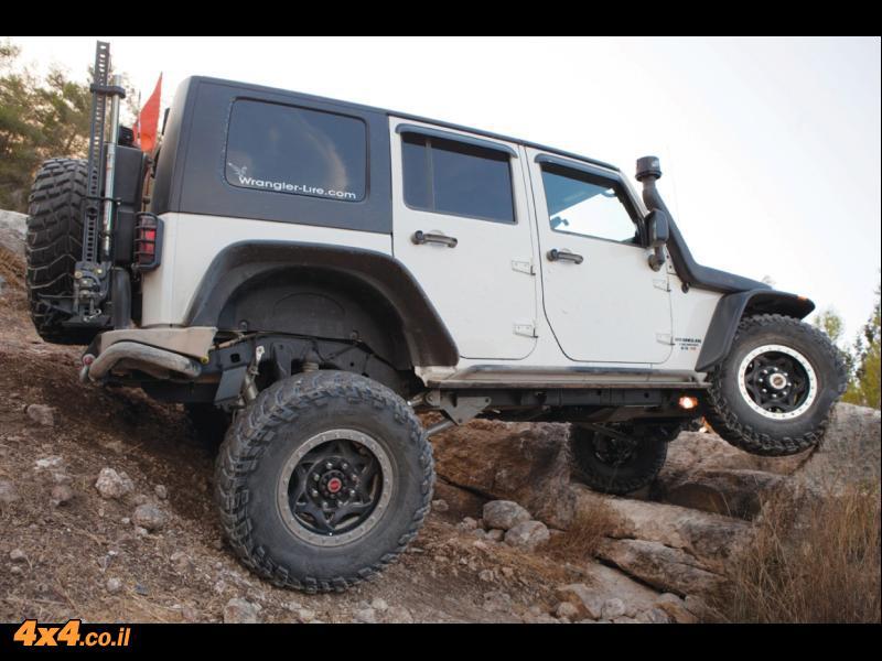 מבחן דרכים - ג'יפ רוביקון - Jeep Rubicon
