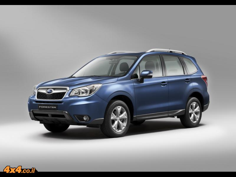 THE NEW 4X4 FORESTER