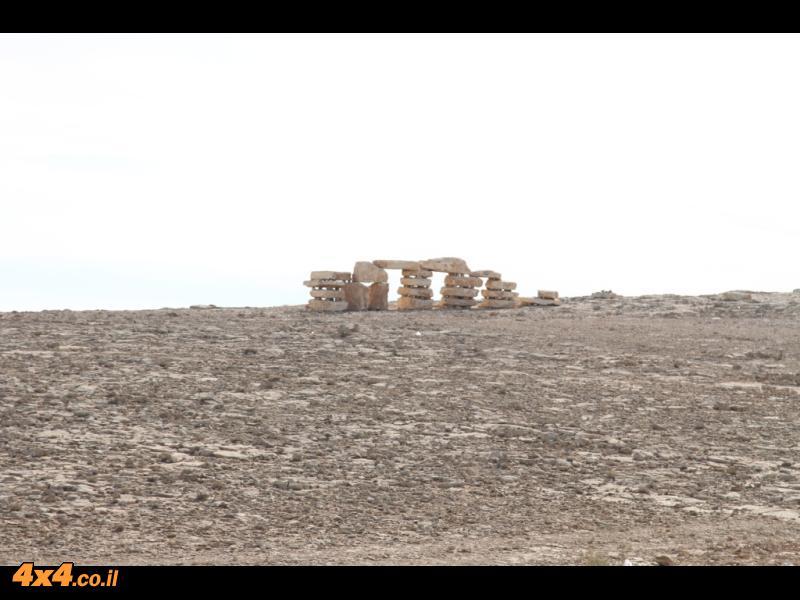 קצת מגן הפסלים שבתחילת המסלול: