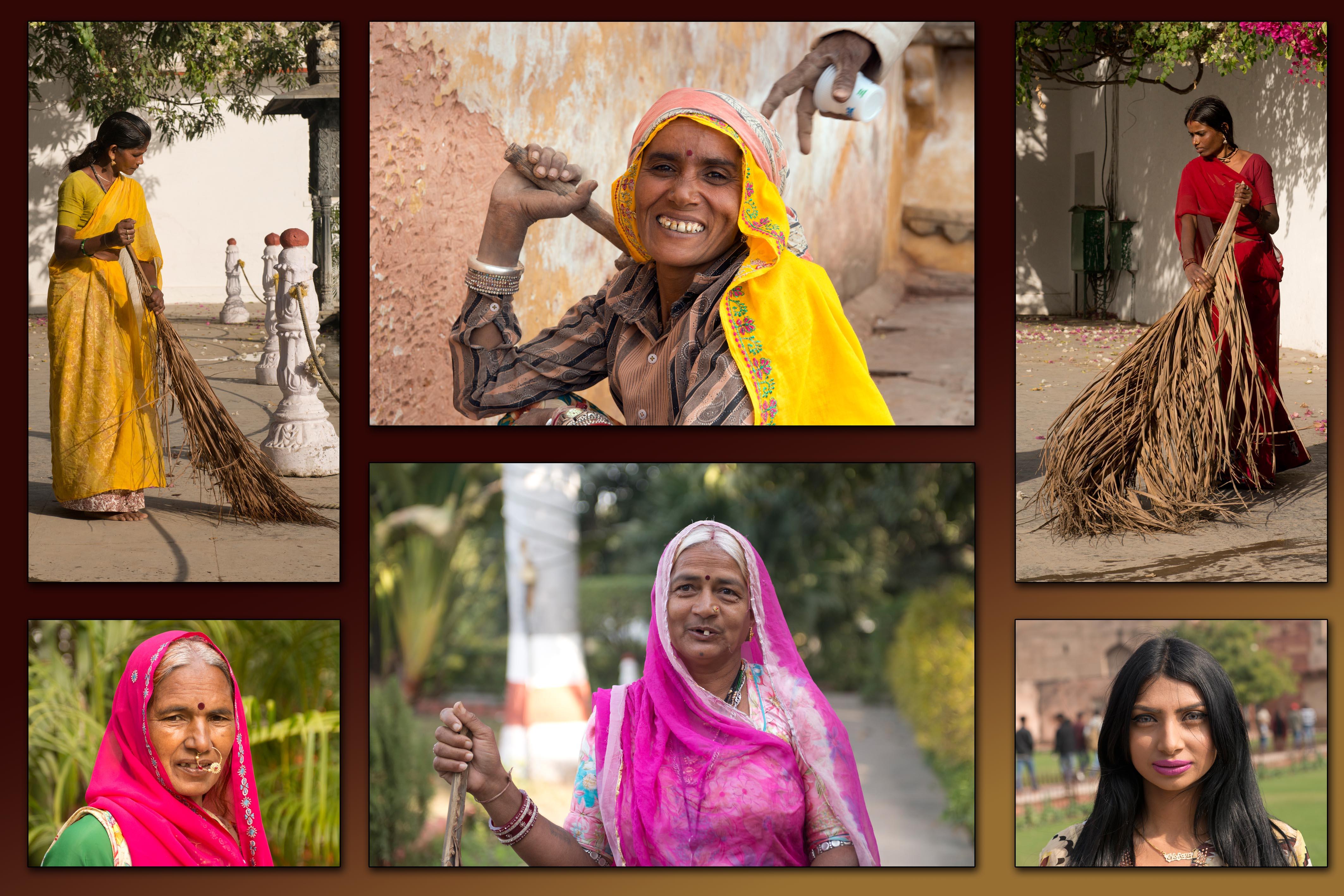אנשים בהודו - 1.2 מיליארד תושבים