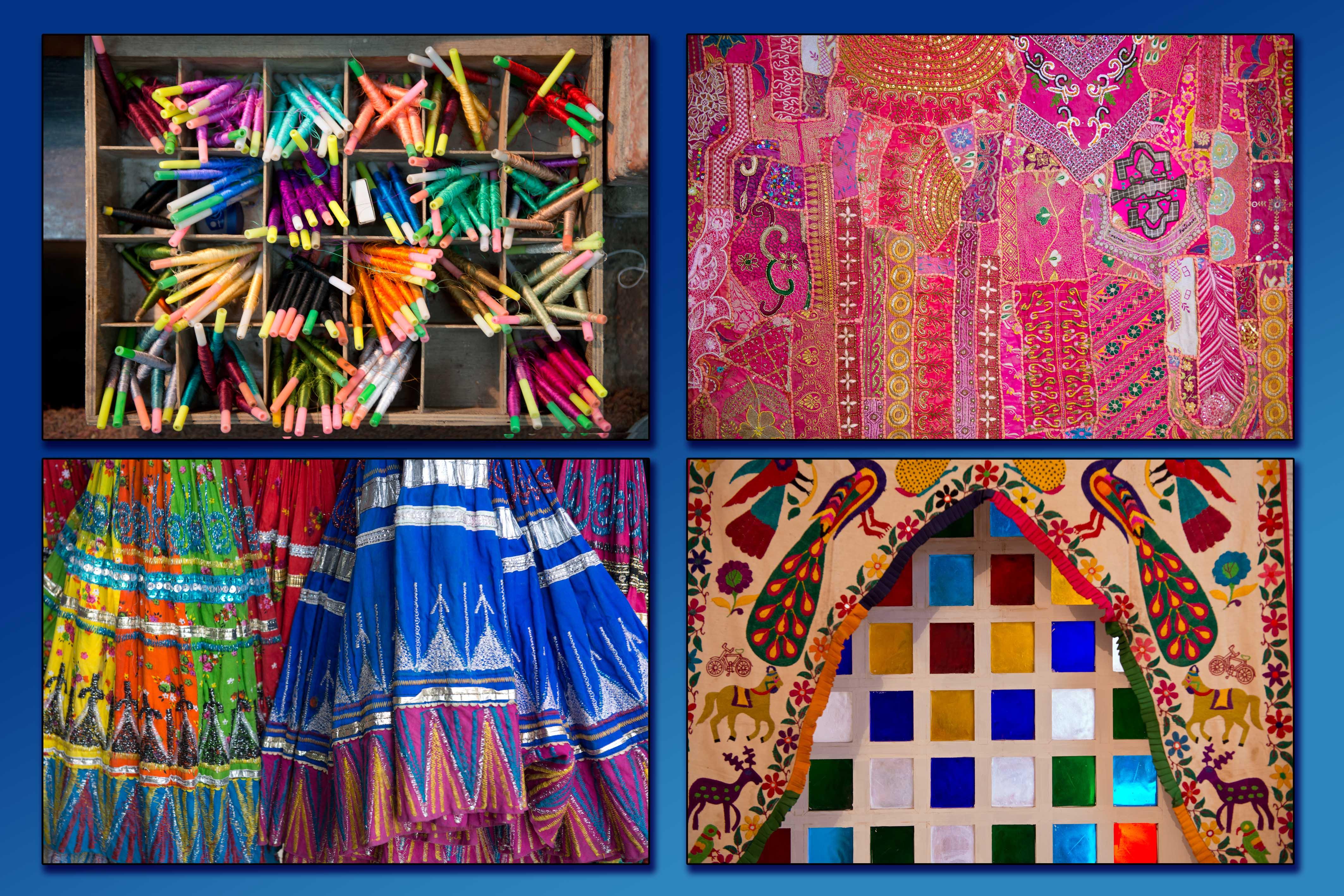 ראגאסטאן נחשבת למחוז הצבעוני ביותר בהודו