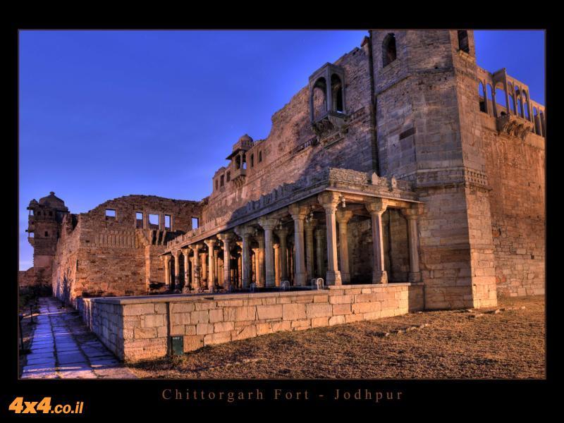 Chittorgarh Fort ועוד מקסמי הודו...