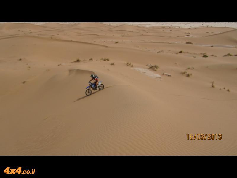יום חמישי: דיונות במדבר הסהרה