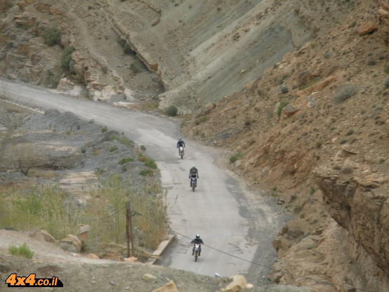 יום שני: חוצים את מעבר ההרים המוטורי הגבוה בהרי האטלס