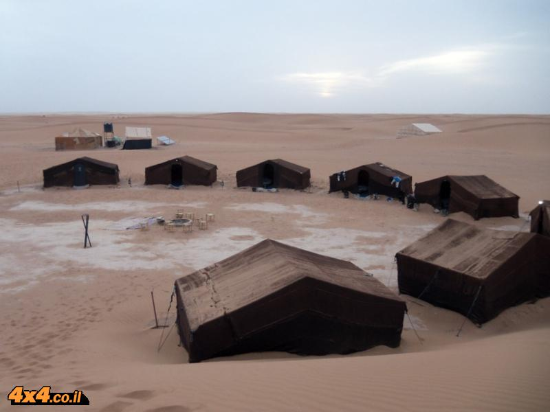 יום רביעי: עד למרגלות הדיונות בסהרה