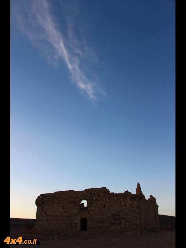 קלעת פצ'ועה - חאן טורקי עתיק בו ישנו את הלילה הראשון