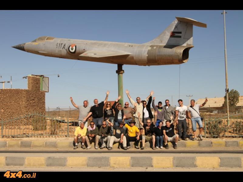 על כבישי המדבר בדרך לעיראק