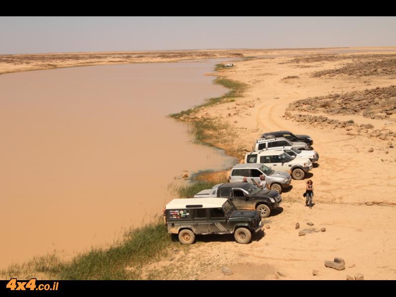 יש מים במדבר והפעם זו לא פאטה מורגנה