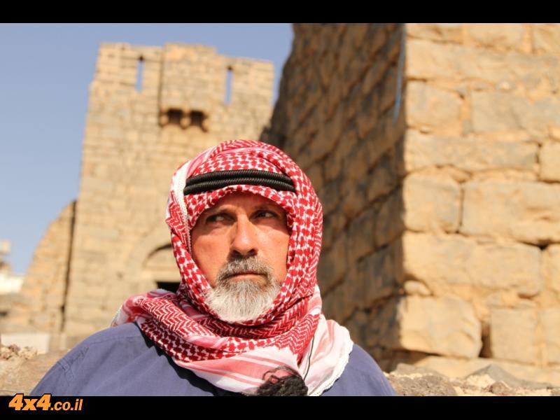 היום הרביעי - מצודות מדהימות ושייח המדבר