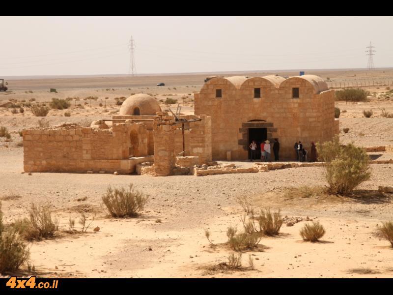 קצ'ר עמרה - וילה במדבר מתקופת שלטון בית אומיה