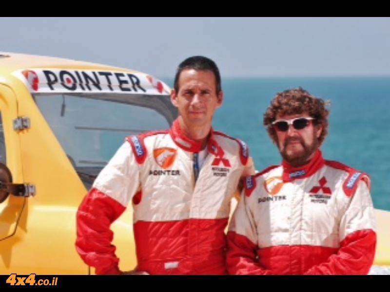רז היימן והלל סגל - צוות 402 בראלי יוון