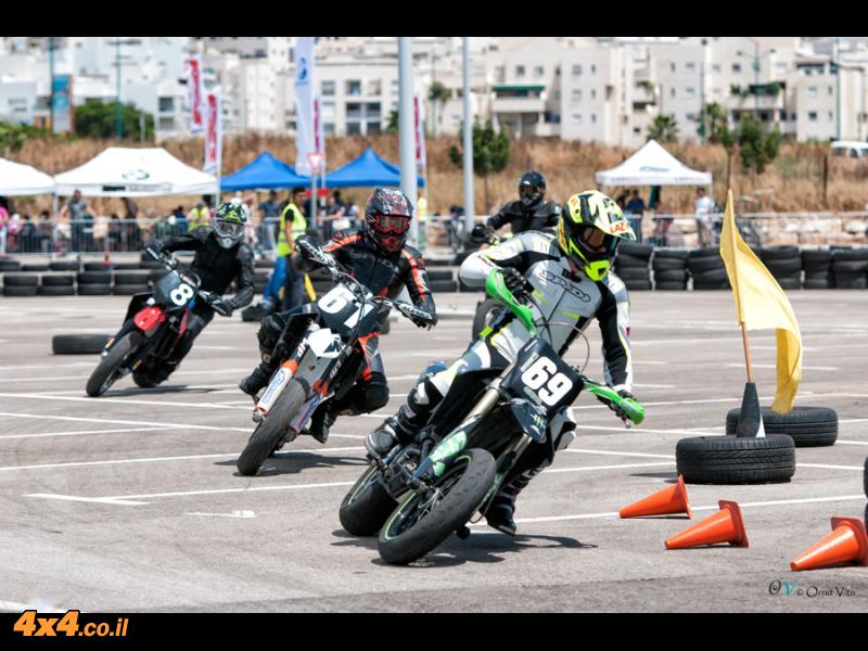העונה החמישית - מרוץ אופנועי מסלול 2013