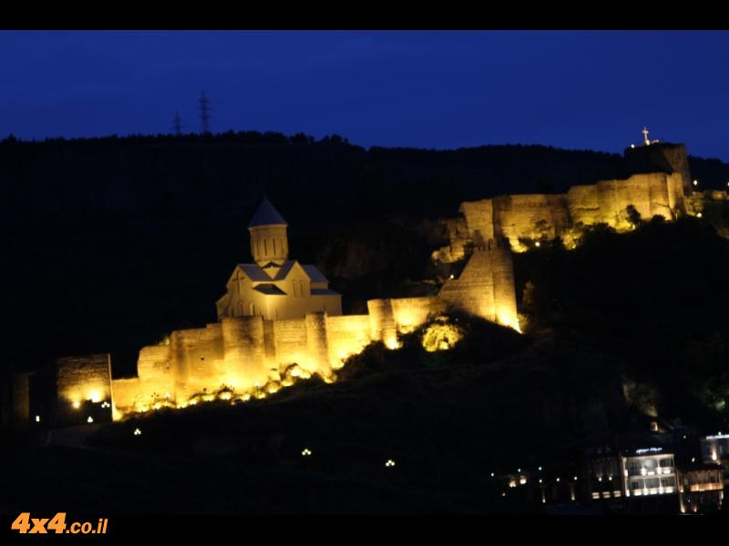טביליסי באמצע הלילה