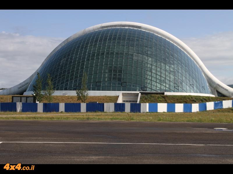 בנין הפרלמנט החדש - קוטאיסי