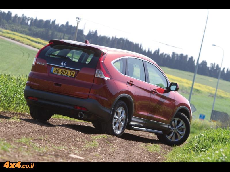 מבחן דרכים - הונדה Honda CR-V