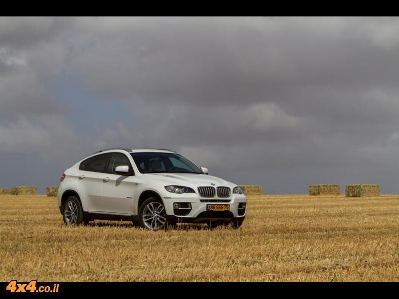 מבחן דרכים - ב.מ.וו  BMW X6