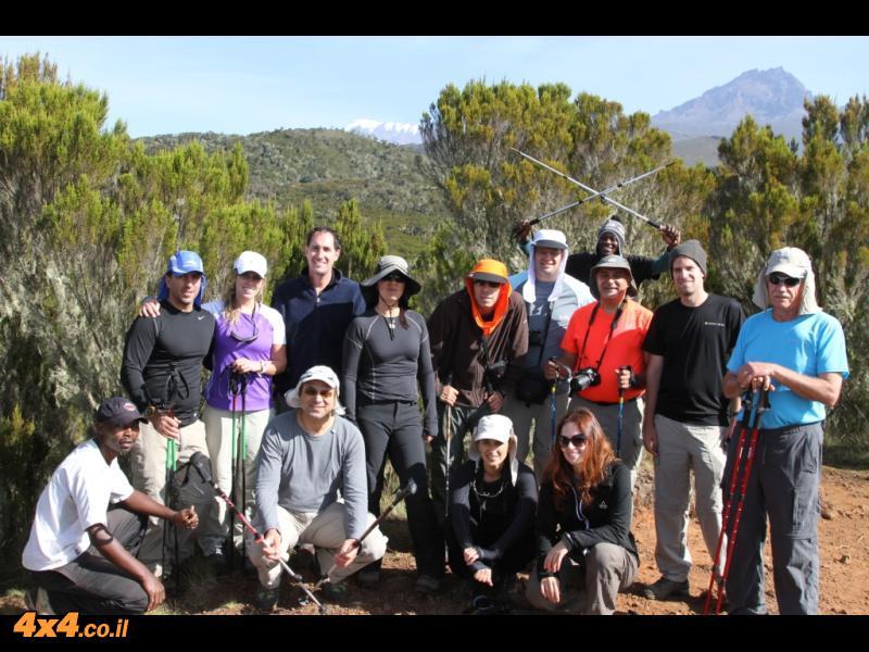 היום השני לטיפוס - מכתש מאונדי