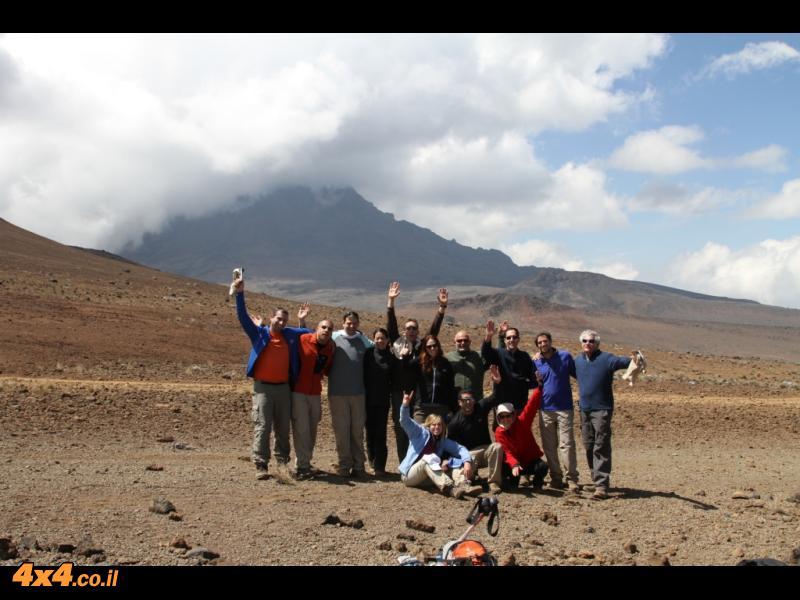 היום השלישי לטיפוס - עד לקיבו 4,700 מטרים