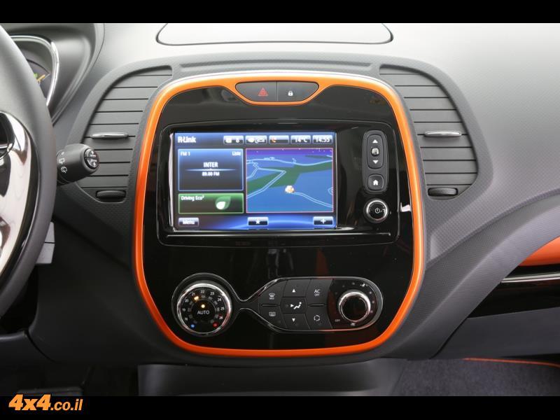 מבחן דרכים: רנו קאפצ'ר - Renault Captur
