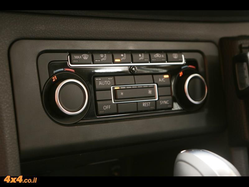 מבחן דרכים: פולקסווגן אמארוק - VW AMAROK