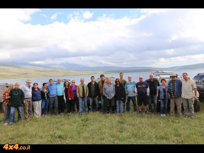 היום הראשון - על אגם טבסקורי